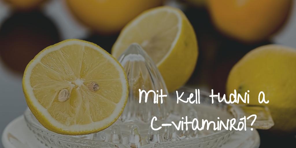 🍋Mit kell tudni a C-vitaminról?🍋